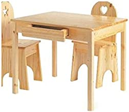 product image for Little Colorado 28 in. Wood Rectangular Kid's Table (Natural)