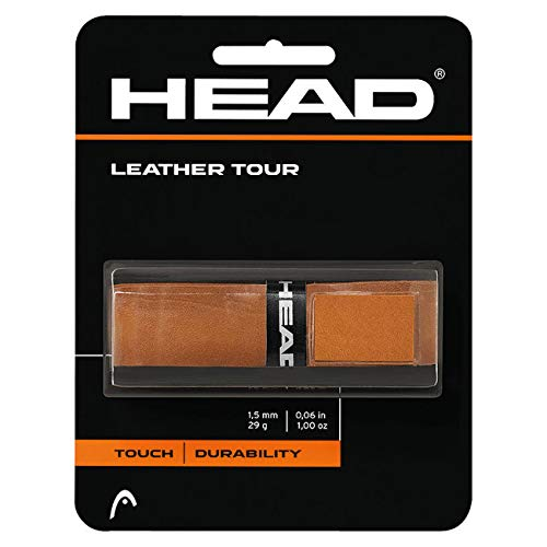 HEAD Unisex – Erwachsene Leather Tour Griffband, Brown, One Size