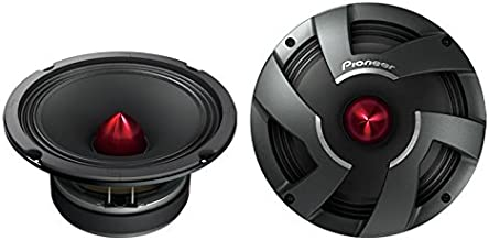 Pioneer TS-M800PRO 8-Inch PRO Series High Efficiency Mid-Bass Car Speaker Drivers - Pair (Discontinued by Manufacturer)