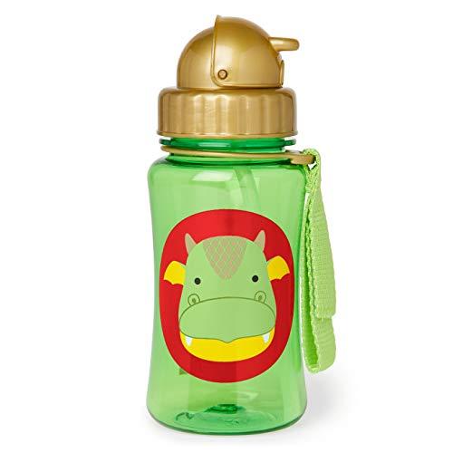 Skip Hop Zoo Botella con pajita dragón