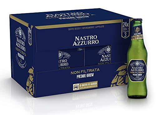 Nastro Azzurro Prime Brew - Cassa da 24 x 33 cl (7.92 litri)