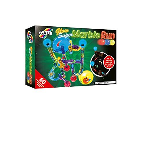 Galt toys - Glow Super Marble Run - Juego de construcción a partir de 4 años