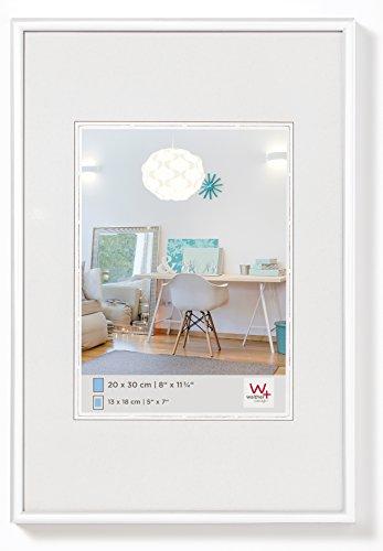 walther design KV835W New Lifestyle Kunststoffrahmen, 1 (28 x 35 cm), weiß