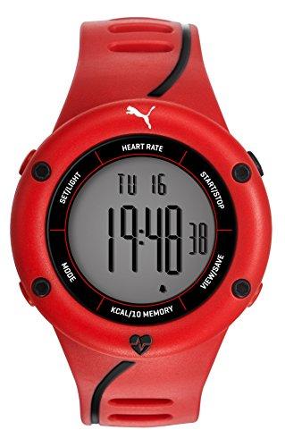 Puma Reloj Digital para Hombre de Cuarzo con Correa en Plástico PU911361003