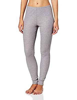Fruit of the Loom Women's Thermal Waffle Bottom, Gray, X-Small