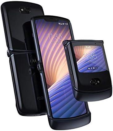 Motorola Razr 5G Unlocked Made for US by Motorola 8 256GB 48MP Camera 2020 Polished Graphite product image