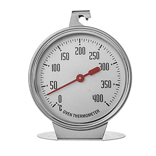 NOWON Appareil de Mesure de Cuisson des Aliments Thermomètre de Four en Acier Inoxydable Ménage de Cuisson