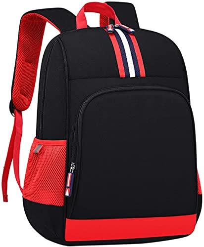 Mochilas para ordenador portátil para adolescentes y niñas, mochilas para niños y niñas, mochilas de escuela primaria, lindas bolsas impermeables ligeras, Black (Negro) - 9606113
