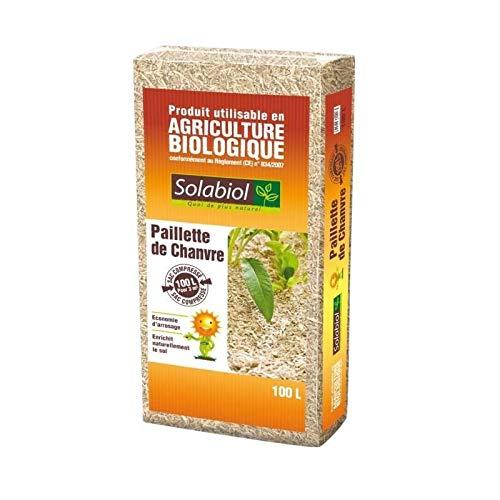 Solabiol SOCHANV100N Paillette de Chanvre - 100 L
