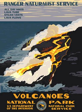 Ford Hawaii Volcanoes National Park Poster