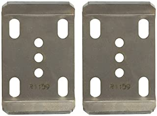 Ruffstuff Specialties Leaf Spring UBolt Plates (Pair) Chevy Ford Dodge Jeep Scout (2 1/2