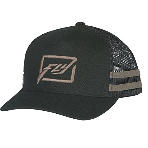 Fly Racing Snapback Cap Huck It schwarz-grau Kappe