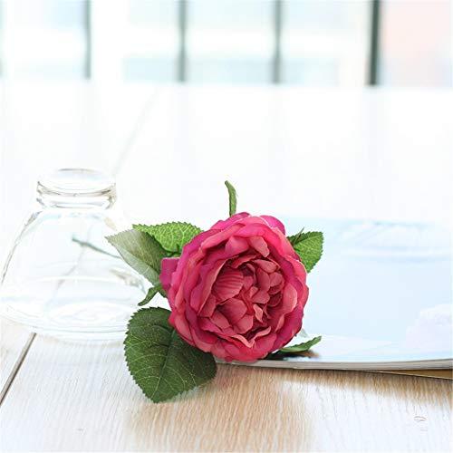 Hunpta@ Künstliche Rose Blume 30cm Rosen Kunstblumen Blumenarrangement für Haus Büro Balkon Garten Hochzeit Party Valentinstag Dekoration