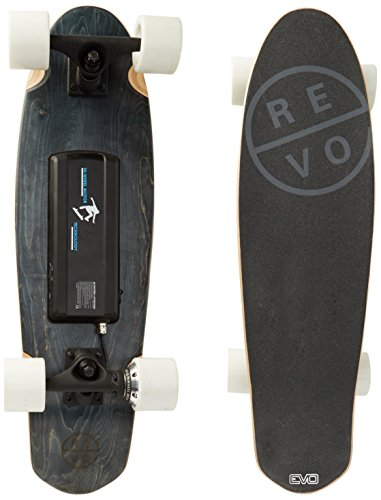Photo de revoe-skateboard-electrique-evo-noir