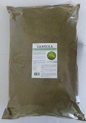 Graviola Pulver Guanabana Blattpulver - naturbelassen - 1kg / 1000g - schonend getrocknete, gemahlene Blätter - GARANTIERT PESTIZITFREI, handverlesene Wildsammlung - Badezusatz - HÖCHSTE QUALITÄT
