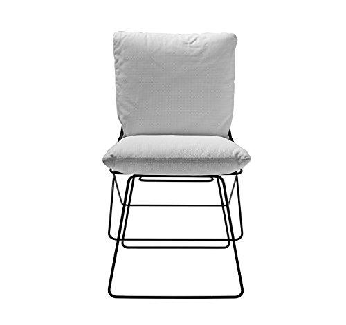 driade - Sof Sof Sof Outdoor - Cipro Bianco 15 - Enzo Mari - Design - Silla de jardín