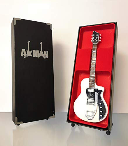 David Bowie Supro - Réplica de guitarra eléctrica de doble tono