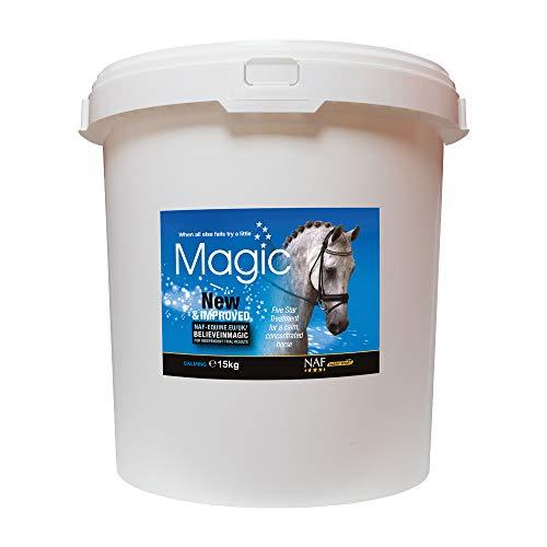NAF INSTANT MAGIC - Tranquilizante de magnesio para caballos blanco blanco Talla:3 x 30ML