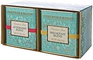 "FORTNUM and MASON - Fortnum""s Famous Teas - Breakfast Blend & Afternoon Blend - 2 x 125gr DOSE - Geschenk-Set"