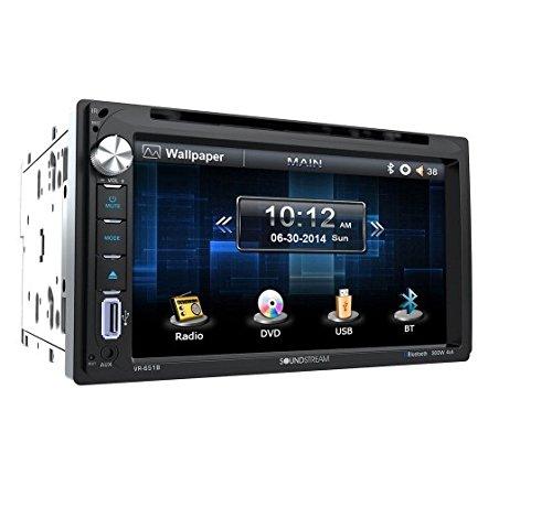 Soundstream vr-651b doble DIN MultiMedia fuente unidad con 6,5′ ′ LCD visualización…