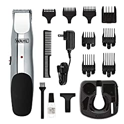 commercial Wahl 9916-4301 Beard and Mustache Trimmer, Cordless Facial Hair Trimmer 5… beard trimmers