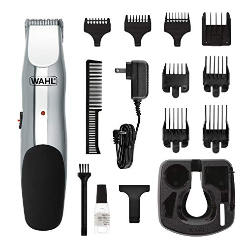 Wahl Beard and Mustache Trimmer, Cordless Rechargeable Facial Hair Trimmer with 5 Length Settings #9916-4301
