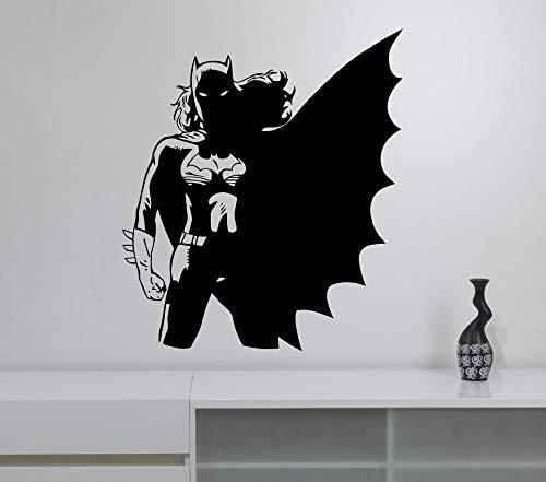 Tianpengyuanshuai afneembare sticker vinyl kinderkamer wandtattoo Comic Art Deco Home slaapkamer meisje