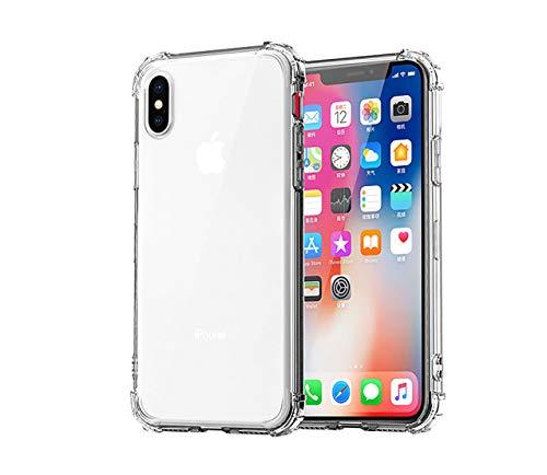 COVER per Iphone XS/ Max / XR CUSTODIA MORBIDA Soft TPU STRASS
