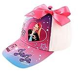 Nickelodeon girls Nickelodeon Toddler Hat for Girl�s Ages 4-7, Jojo Siwa Kids Baseball Cap, White, 4-7 Years US