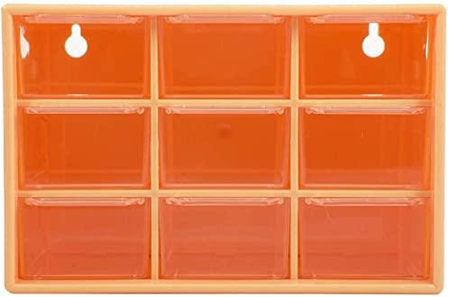 OH Organizador de Escritorio 9 Caja de Cuadrícula Caja de Alenamiento Caja de Alenamiento Organizador de Cosméticos Caja de Joyería Sundries Contenedor para Baño Alta capacidad/Ma