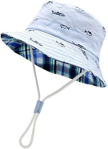 Sarfel Baby Sun Hat Toddler Summer Hats UPF 50 Baby Bucket Hat Kids Beach Hats for Baby Boys product image
