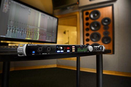 Presonus Quantum 26x32 Thunderbolt 2 Low-Latency Audio Interface, 26x32-8 Mic Pres