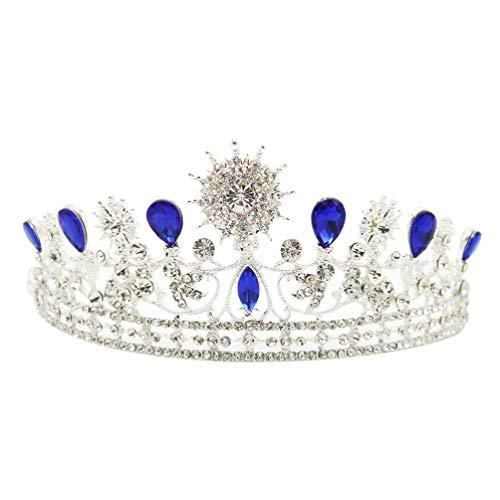 Minkissy novia coronas princesa reina tiaras barroco boda accesorios para el cabello...