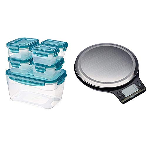 AmazonBasics - Picknickbedarf, Größe Combo - 6-teiliges Set