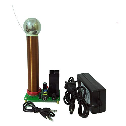 JIAYI DIY Mini 20W Tesla Coil Plasma Speaker Music Tesla Wireless Transmission Test