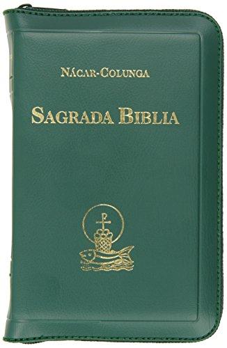 Sagrada Biblia bolsillo (9 x 13 cm.) Cremallera: 2 (EDICIONES BÍBLICAS)