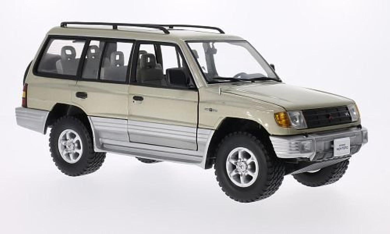 minorista de fitness Mitsubishi Montero Largo 3.5 V6, metálico-beige, 1998, 1998, 1998, Modelo de Auto, modello completo, sol estrella 1 18  Las ventas en línea ahorran un 70%.
