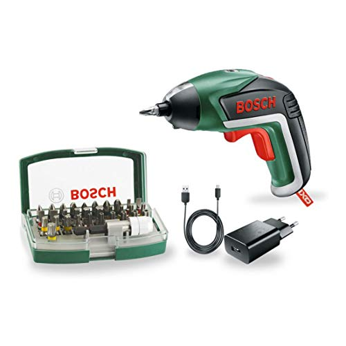 Bosch 06039A800S power screwdriver/mpact driver Mehrfarbig 215 RPM - Power Screwdrivers & Impact Drivers (3,6 V, Lithium, 1500 mAh, 620 g, 1 Stück(e), 31 Stück(e))