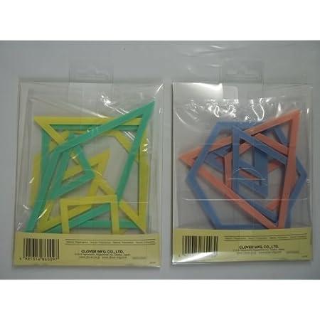Dreieck /& Sechseck Quilten Lineal Set cuffslee Quilten Patchwork Lineal Transparentes Universal Lineal Durchsichtigen Kunststoff Quilten Quadratische Vorlage N/ähen Handwerk Zubeh/ör