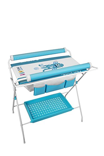 Plastimyr Plastimons - Bañera flexible, color azul