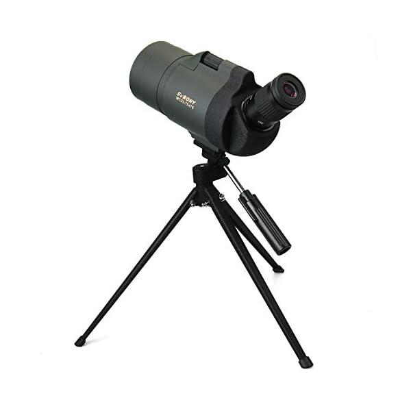 Svbony SV41 Spotting Scope Maksutov 20-75x70 IPX7 Waterproof Bak4 Porro Prism Fully Multi-Coated Optics Telescope Spotting Scope with tripod for Bird Watching Terrestrial Astronomical