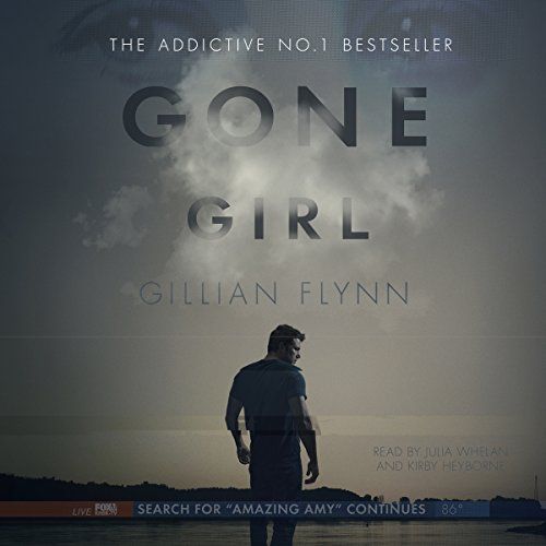 Gone Girl by Gillian Flynn - When his wife Amy suddenly disappears, the police immediately suspect Nick. Amy's friends reveal that she was afraid of him, that she kept secrets from him. He swears it isn't true....