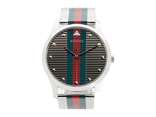 Gucci Herren-Armbanduhr G-Timeless Armband Mehrfarbig YA126284
