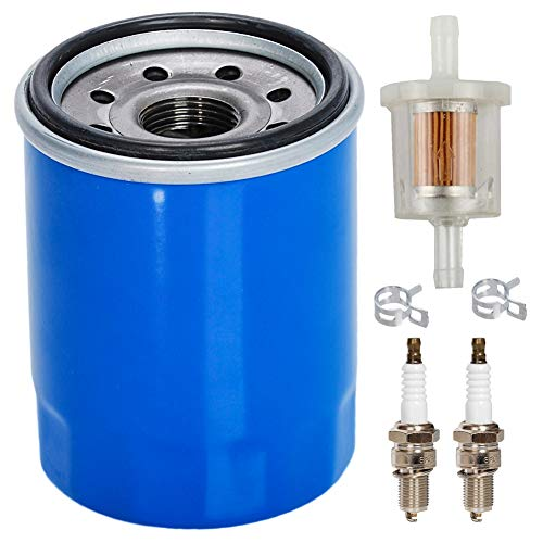 HIFROM 15400-PLM-A02 Ölfilter mit Zündkerze, Kraftstofffilter, Tune-Up Kit, Ersatz für Honda GX610 GX620 GX630 GX660 GX670 GX690 Motor