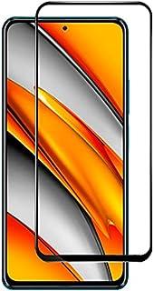 واقي شاشة من الزجاج المقسى بلاصق كامل لجوال شاومي بوكو اف 3 / شاومي مي 11 اي
