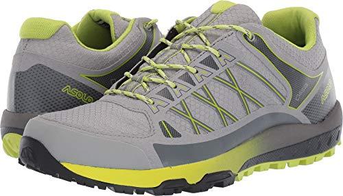 Asolo Women's Grid GV Hiking Shoe Grey Lime 8.5