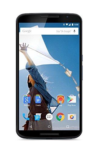 Motorola Nexus 6 XT1100 32GB 4G LTE Unlocked GSM Android v5.0 Smartphone - Blue - International...