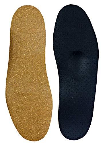 Green-Feet 3mm dünne Orthopädische Schuh Einlegesohle-n Senkfuß Plattfuß Normalfuß Hohlfuß mit Spreizfuß-Stütze Dämpfungs-Polster, Neutral Arch Normales Gewölbe, 39/40 EU
