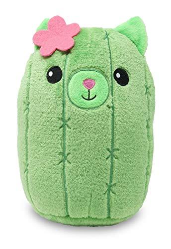 Cuddle Barn | Prickly Pals | Squishy Green Cactus Soft Stuffed Animal Toys (Kira The Kitty)