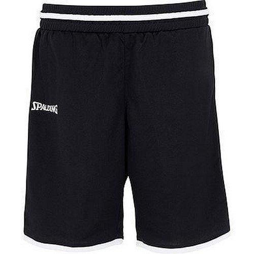 Spalding Damen Move Shorts, schwarz/Weiß, M